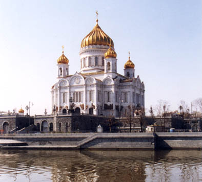 THE RUSSIAN ORTHODOX CHURCH - THE CATHEDRAL OF CHRIST THE SAVIOR