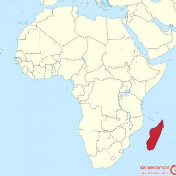 ماداگاسکار، چهارمین جزیره ی بزرگ دنیا