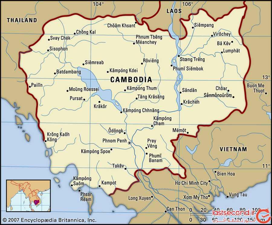 کامبوج، سرزمین شگفت انگیزترین معبدها