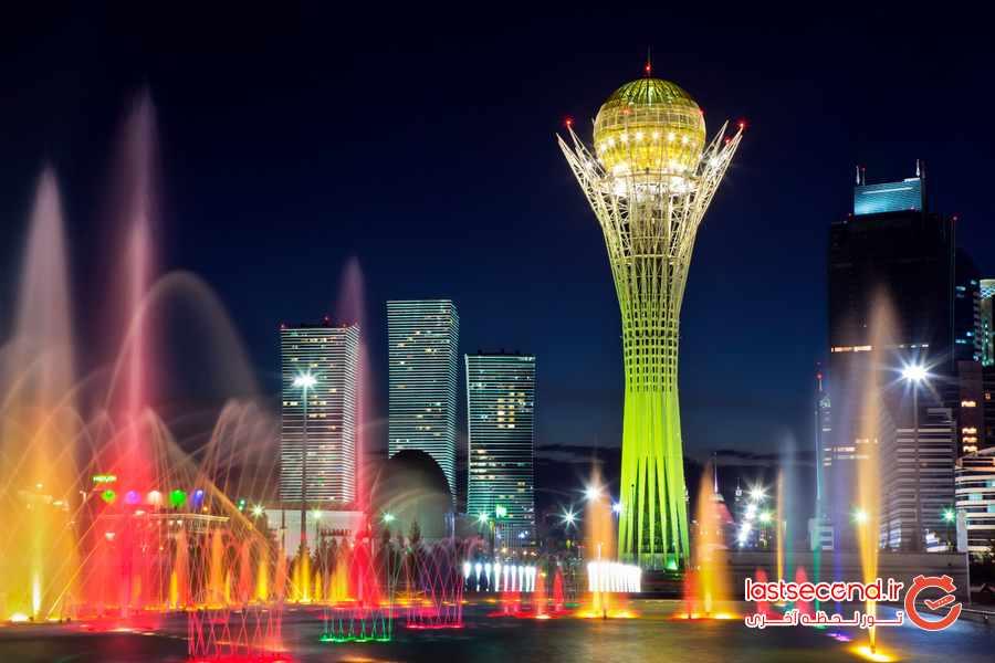 آستانه ، عجیب ترین پایتخت جهان 