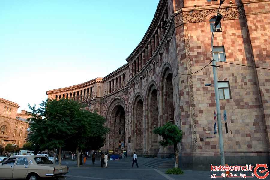 ایروان، شهری زیبا