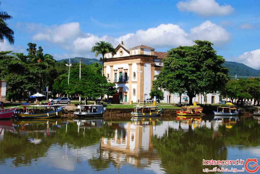 پاراتی، شهری کوچک ولی زیبا در برزیل