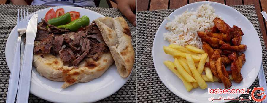 غذاهای سفارش داده شده