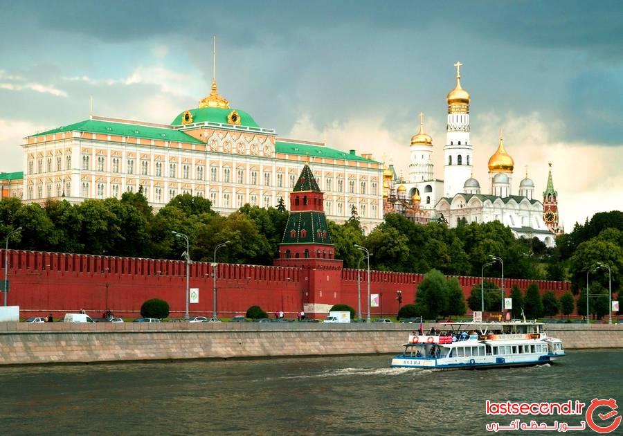 جاذبه های دیدنی روسیه - مسکو