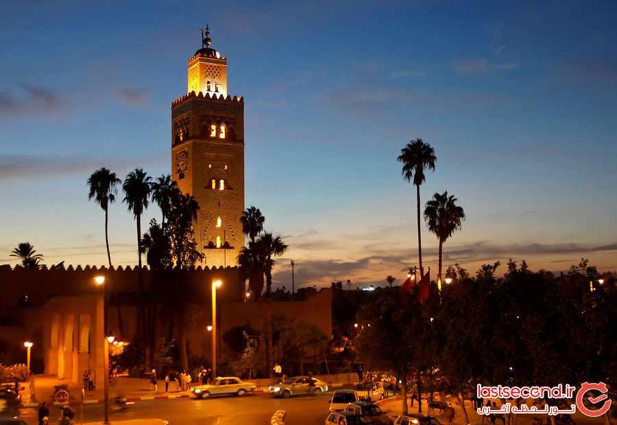 برترین جاذبه های دیدنی مراکش 