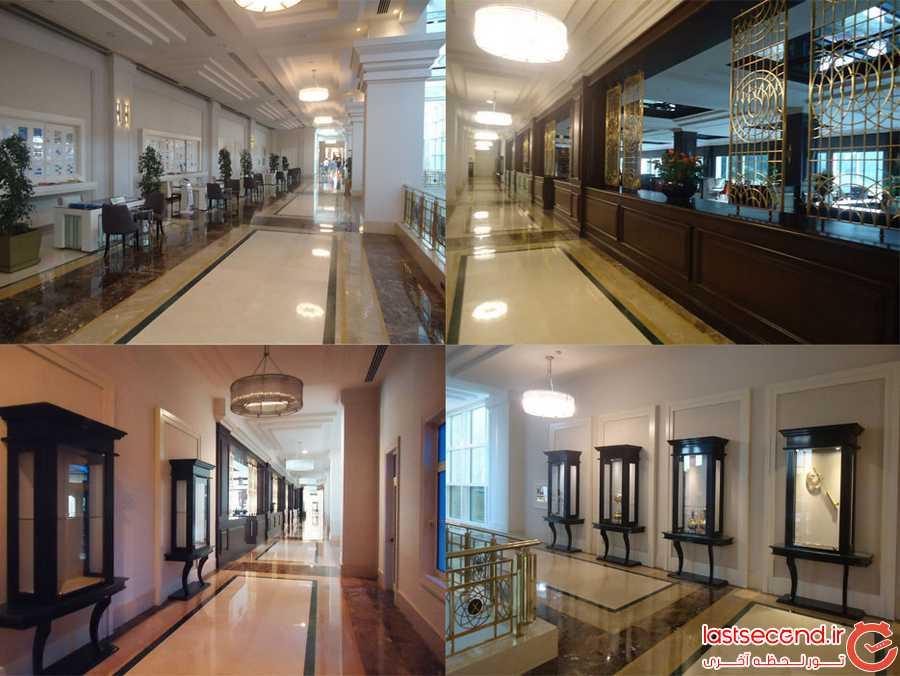 راهروهای هتل