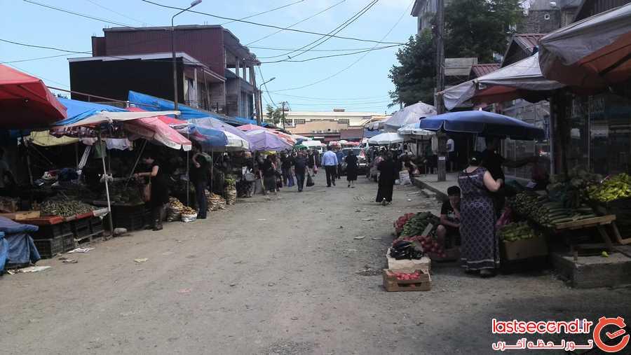 بازار محلی باتومی
