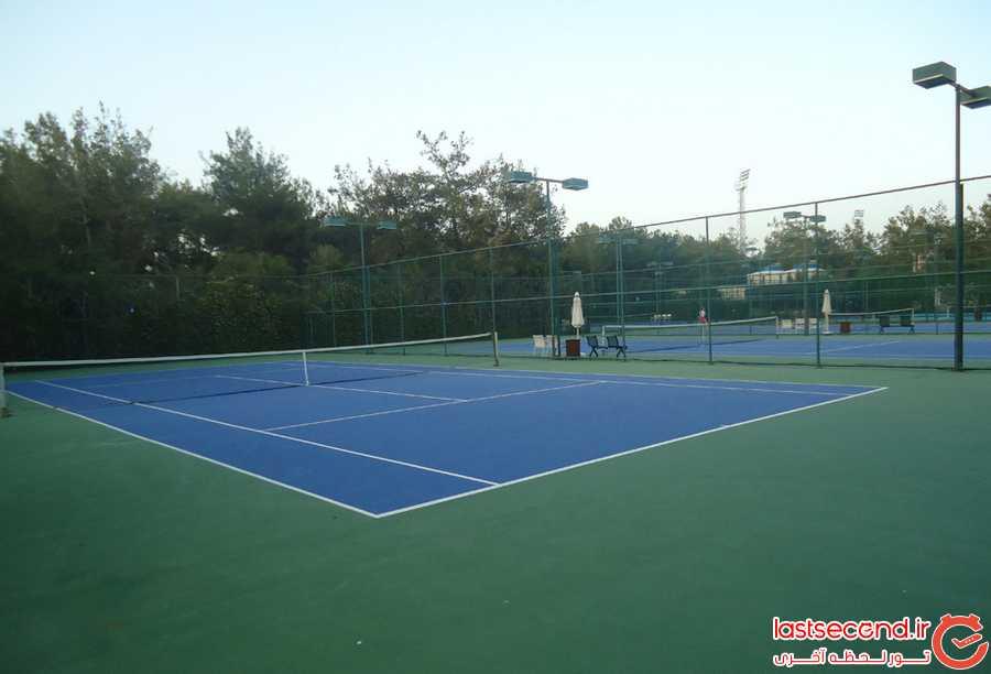 زمین های تنیس