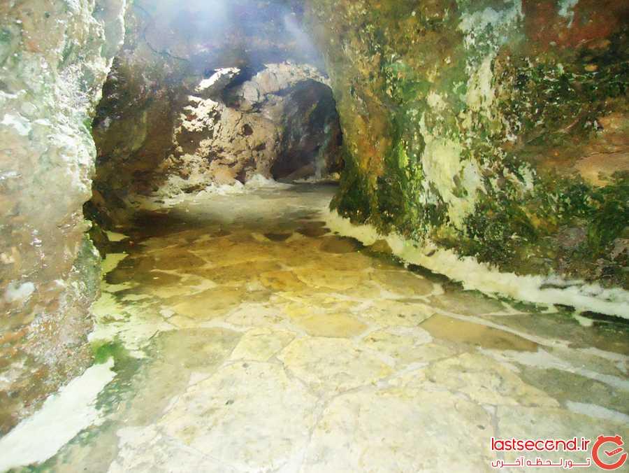 تونل پشت آبشار