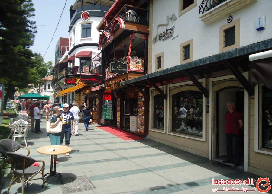 رستوران خیابان کاظم اوزلپ