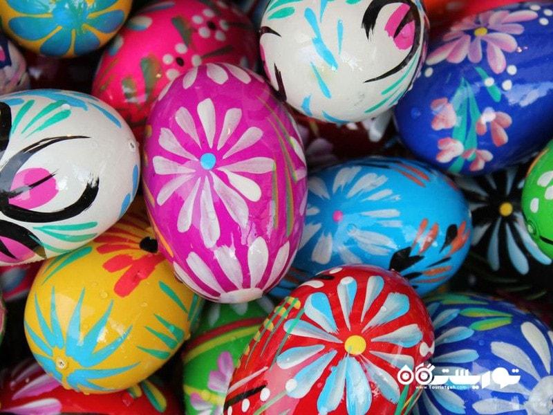 عید پاک مهمترین روز تعطیل مسیحیان می باشد