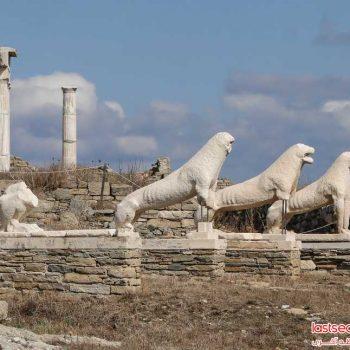 برترین جاذبه های زادگاه آپولو، خدای یونانیان باستان