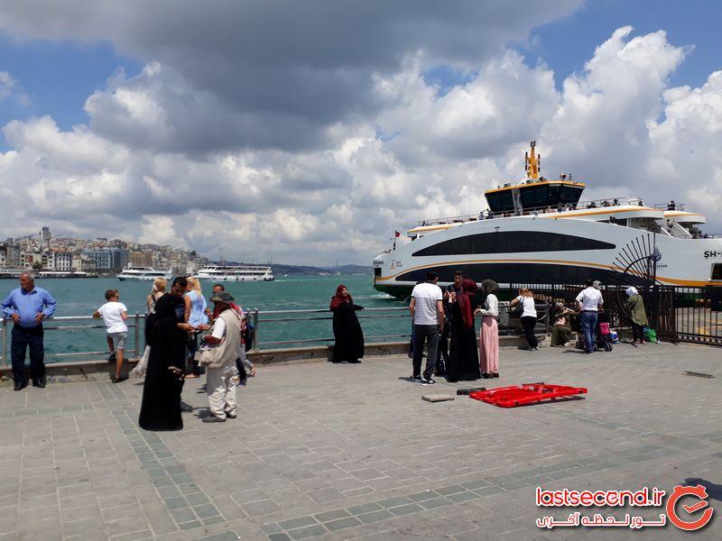 سفری خانوادگی به شهر دیدنی استانبول