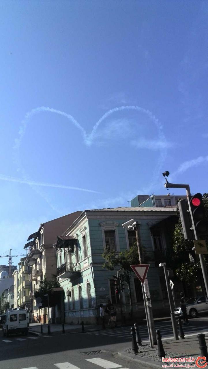 قلب در آسمان
