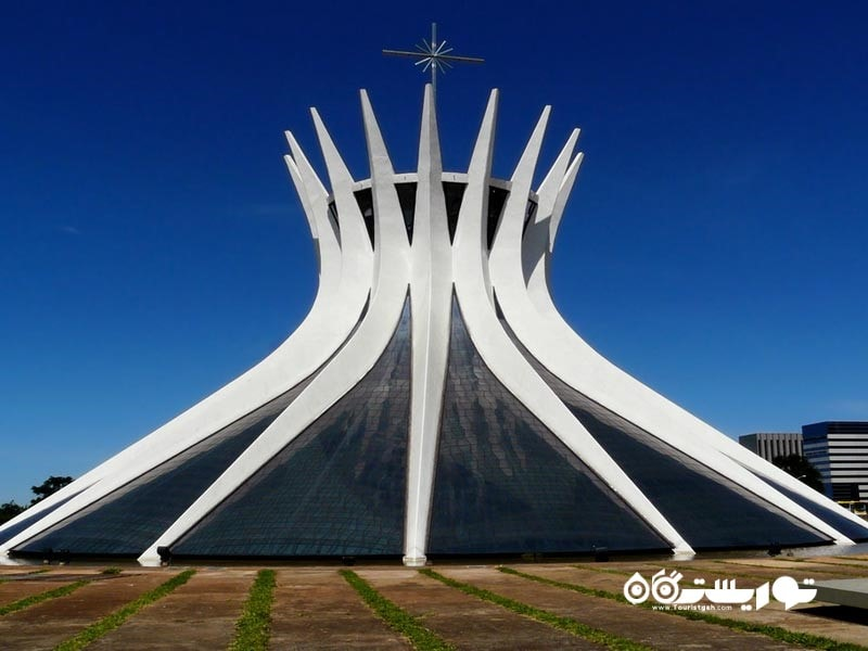 5 – کلیسای جامع برازیلیا (Cathedral of Brasilia)