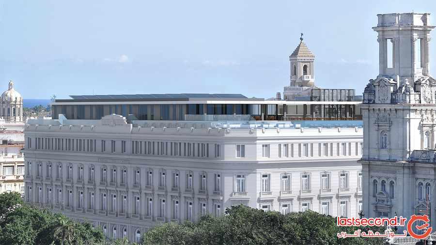 اولین هتل فوق لوکس در شهر هاوانا کوبا افتتاح شد            