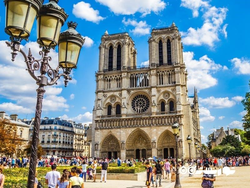 7 – کلیسای نوتردام پاریس (Notre Dame de Paris)