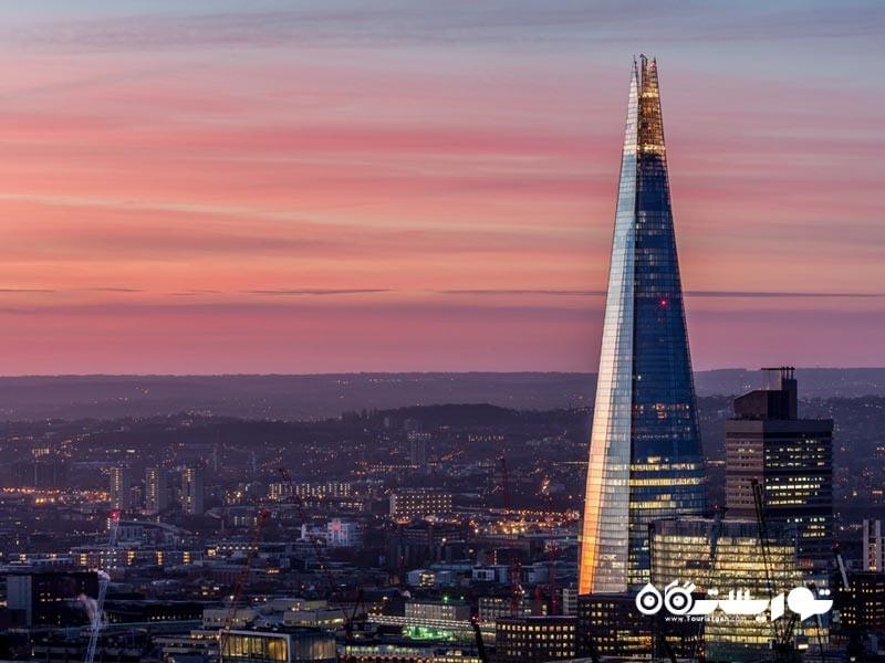 4 – برج شارد لندن (The Shard)