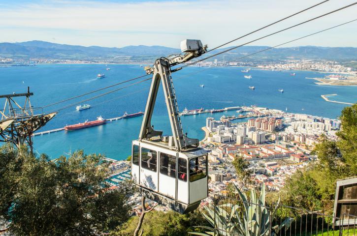 Cable Car en Gibraltar - ۱۱ دلیل برای سفر به آندالوسیا