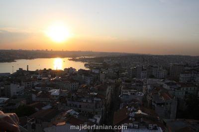 غروب استانبول