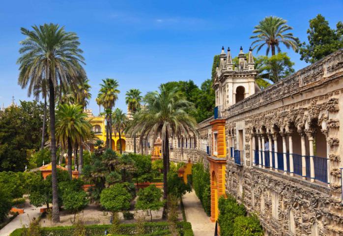 Real Alcazar Gardens in Seville Spain 800x550 3 - سفرنامه آندالوسیا