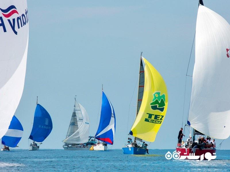 مسابقه قایقرانی کاپ رگاتا پادشاه پوکت