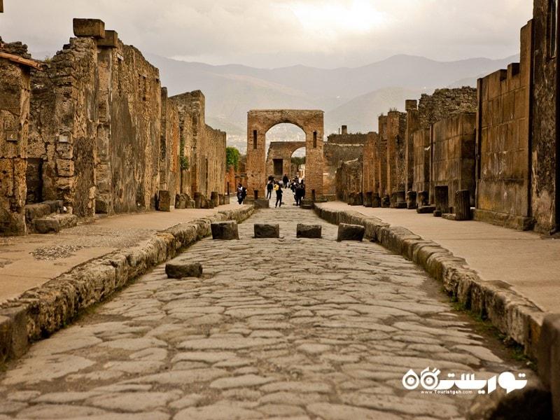 پمپئی (Pompeii) در کشور ایتالیا