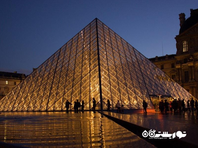 موزه لوور پاریس (The Louvre in Paris) در کشور فرانسه