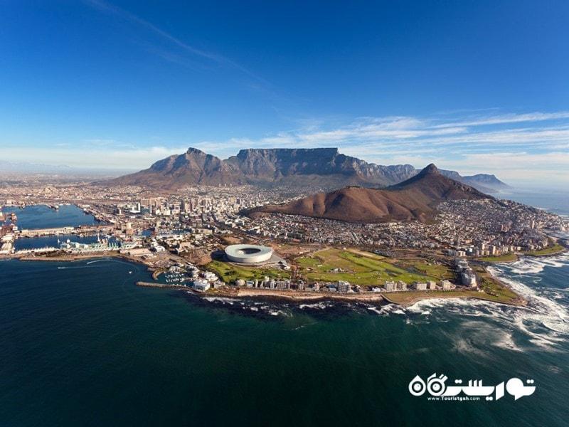 5. کیپ تاون (Cape Town)، آفریقای جنوبی - 54.95 پوند
