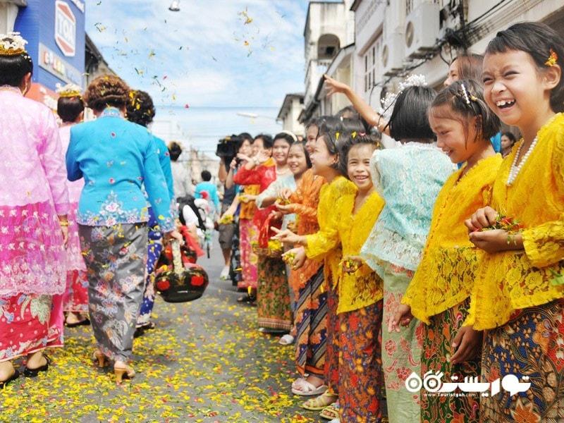جشنواره عروسی بابا، پراناکان (Peranakan)