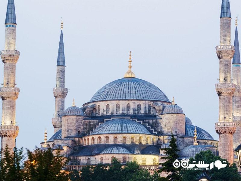 مسجد آبی استانبول (Blue Mosque in Istanbul) در کشور ترکیه