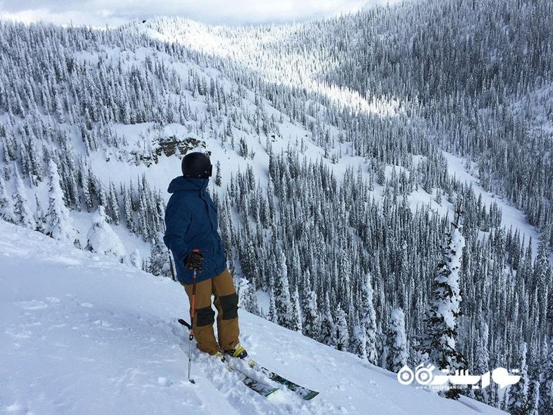 پیست اسکی کوهستان وایت فیش (Whitefish)، مونتانا