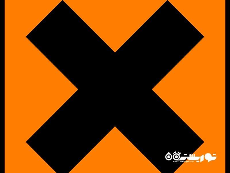 (X) در دوران قرون وسطی نماد بوسه به شمار می رفت