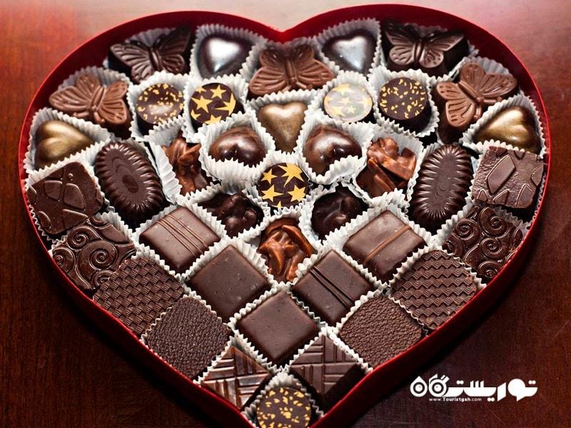 بیش از 35 میلیون جعبه شکلات قلبی در روز ولنتاین