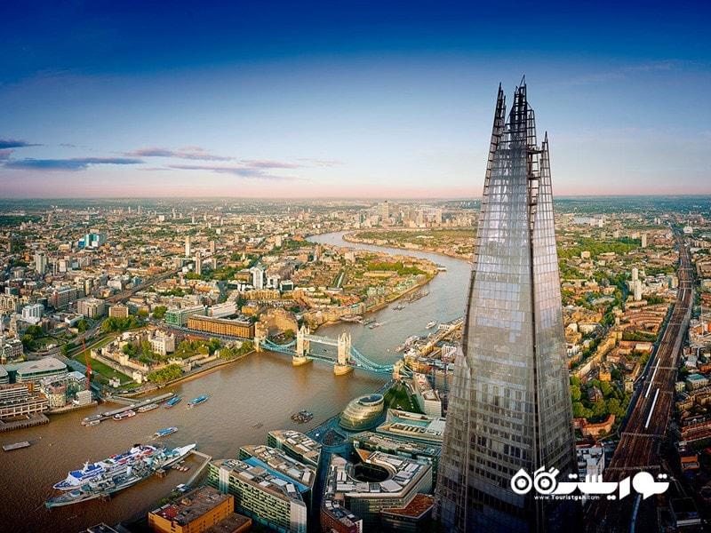 برج شارد لندن (The Shard in London) در بریتانیا