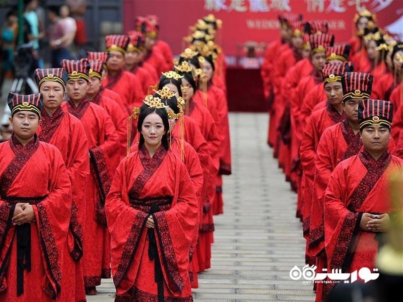 سنت های جالب برای برگزاری روز ولنتاین در کشور چین