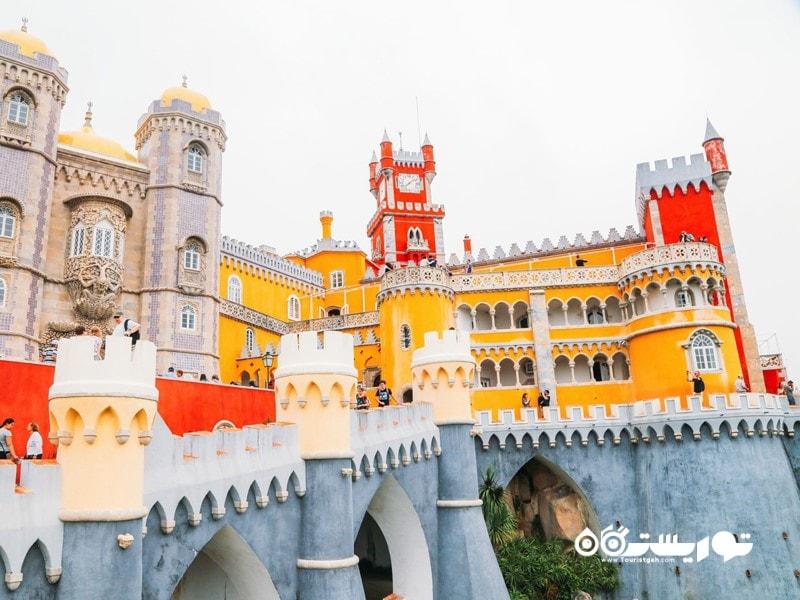کاخ پنا در سینترا (Pena Palace in Sintra) در کشور پرتغال