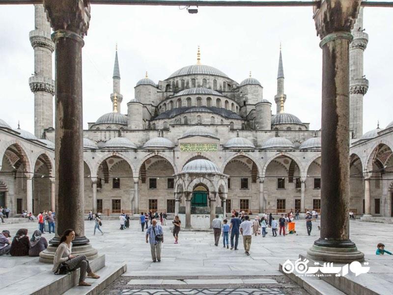 مسجد آبی در استانبول