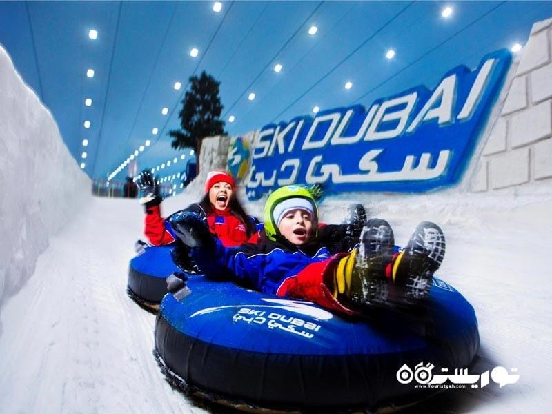 6-پیست اسکی دبی Ski Dubai