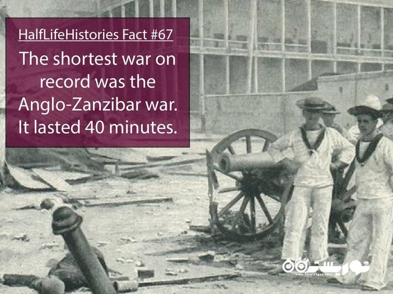 بریتانیا در طول تاریخ درگیر جنگ های بسیاری بوده است