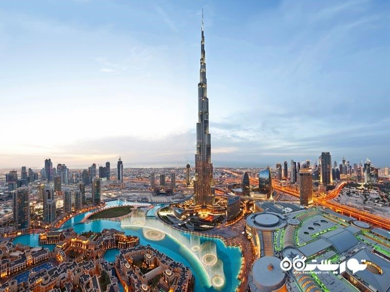 3-برج خلیفه The Burj Khalifa