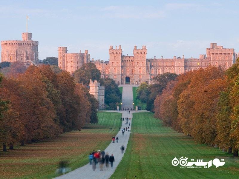 قلعه ویندسور (Windsor castle) در شهر بارکشر (Berkshire)