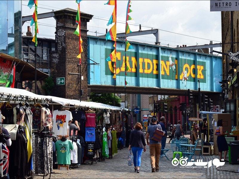 بازار کامدن لاک (Camden Lock and Market) در بریتانیا