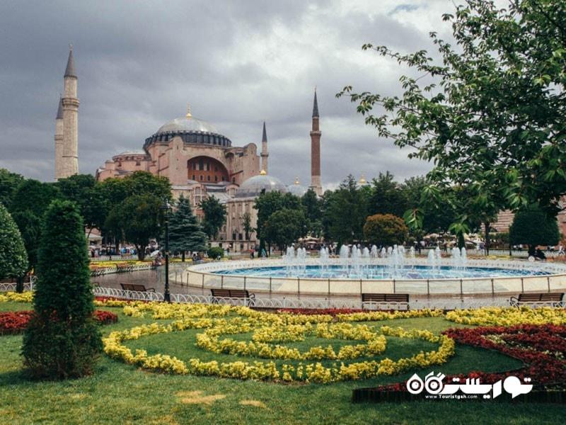 ایاصوفیه در استانبول