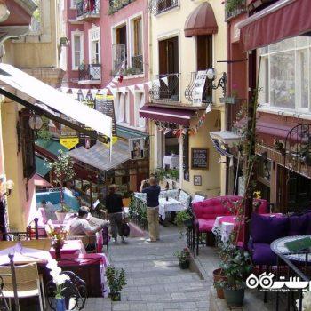 مکان های تفریحی محله بی اوغلو در استانبول