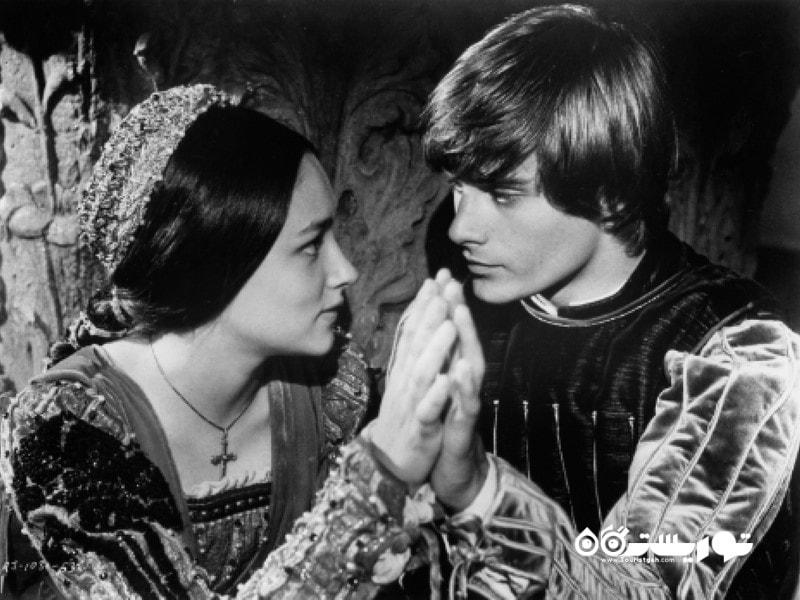 در روز ولنتاین بیش از 1000 نامه از دوستداران نمایشنامه رومئو و ژولیت