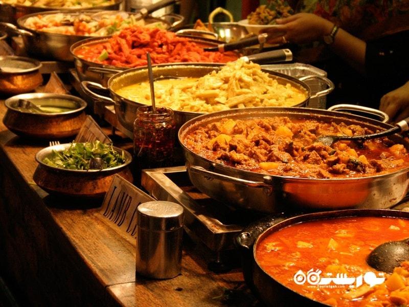 رستوران های زنجیره ای هندی