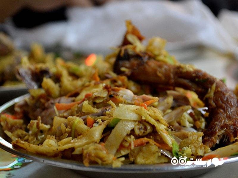 کاتو (Kottu) غذای خیابانی کشور سریلانکا