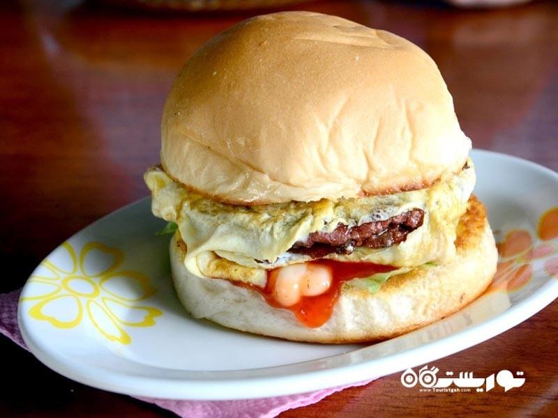 16- رَملی برگر (Ramly Burger) کوالالامپور