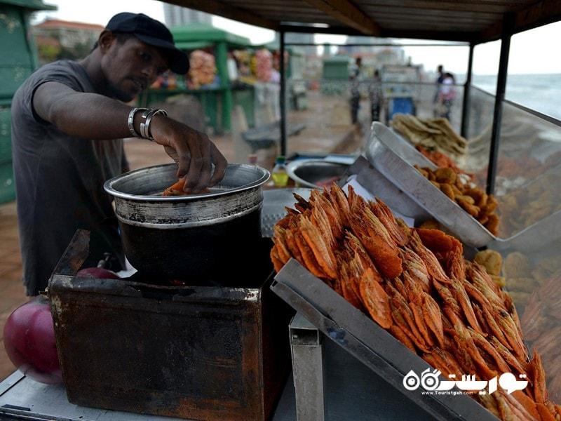 معرفی5 غذای خیابانی کشور سریلانکا